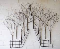 Wall Decor Metal Tree Best 25 Metal Wall Art Ideas On Pinterest Metal Art Decor