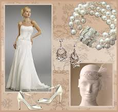 inspiration a roaring 20 u0027s bridal look for less than 550