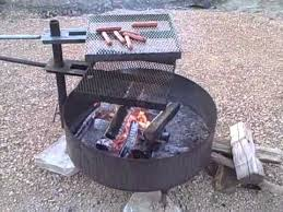 Firepit Grates Free Standing Pit 2 Cooking Grates Pit Grill