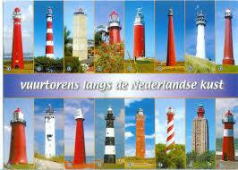 netherlands lighthouse map lighthouse map