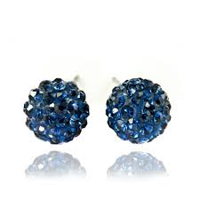 navy blue earrings 49 navy earrings magnifica earrings navy blue lamevallar net