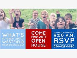 www find friends school nov 10 westfield friends school open house cinnaminson nj patch