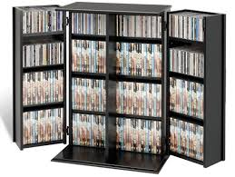 Vhs Storage Cabinet Black Dvd Storage Cabinet With Doors Cabinet Doors