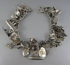 sterling silver charm bracelet charm images Charming design charm bracelet charms because vintage sterling jpg