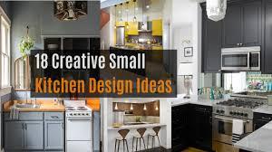 18 creative small kitchen design ideas youtube