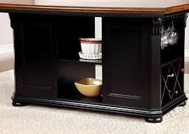 sabrina country style 9pc cherry u0026 black finish counter height