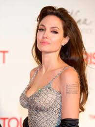 9 new angelina jolie tattoos and meanings styles at life