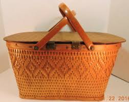 wine picnic baskets wine basket etsy