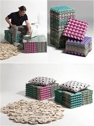 home decor ideas with waste diy craft projects recycle egg carton bricolage pinterest dma