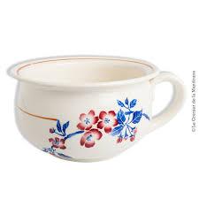 pot de chambre antique ancien vase de nuit pot de chambre faïencerie de pexonne f f