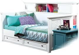 bookcase bookcase daybed with drawers and trundle full daybed