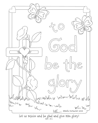 free bible coloring pages for sunday kids in printable
