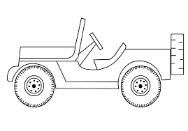 military jeep coloring page jeep coloring pages ambulance coloring page ambulance for the jeep
