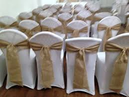 chair sashes hessian wedding chair sashes x 10 or black co uk