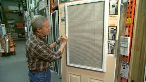 Blinds For Glass Front Doors Enclosed Blinds For Entry Doors Today U0027s Homeowner