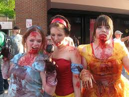Zombie Princess Halloween Costume 9 Group Halloween Costumes Twist Neon Tommy