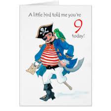 9 year old birthday cards u0026 invitations zazzle com au