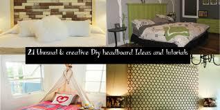 21 unusual u0026 creative diy headboard ideas and tutorials u2013 home and