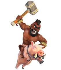 clash of clans wallpaper 23 clash of clans hog rider clash wiki com