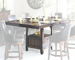 dining room counter height tables bayshore counter height table with storage base