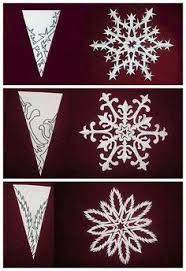 snowflake patterns decoupage snowflake pattern
