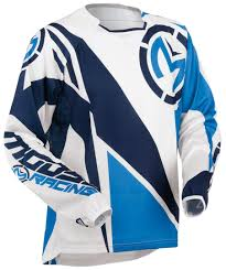 blue motocross gear moose racing motocross jerseys stable quality moose racing