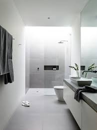 Modern White Bathroom Ideas Robinson Concept Home Canny For Lubelso 15 Ensuites Modern White