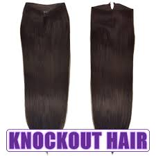 Uzbekistan Hair Extensions by Fits Like A Halo Hair Extensions 20 Dark Brown 2 Human No