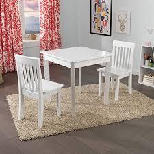 krã mel design kidkraft square table 2 avalon chair set white