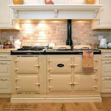 Aga Kitchen Designs Aga 3 Oven Traditional Gas Cooker W Module Attached The Kitchen