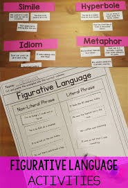 figurative language rl3 4 figurative language activity common