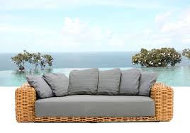 divanetti rattan arredamento esterno divani in rattan set c g home design