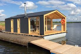 Floating Home Floor Plans Dubldom Houseboat A Modular Floating Cabin With A 280 Sq Ft