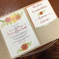pocket invitation pocket wedding invitations by northerly design printing