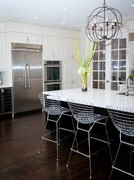 kitchen modern white kitchens with dark wood floors powder room