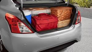nissan tiida trunk space car features almera nissan philippines