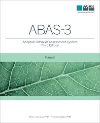 adaptive behavior assessment system abas 3 third edition