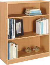 Mahogany Effect Bookcase Beech Bookcases Foter
