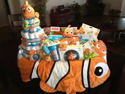 finding nemo baby shower finding nemo baby shower gift including a cake all sitting