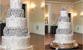 wedding cake ny jewelled beaded winter wedding cakes cake magazine