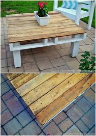 Outdoor Pallet Table 80 Brilliant Diy Backyard Furniture Ideas That Will Give Your