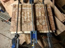 end grain heart pine butcher block album on imgur