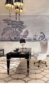 Luxury Interior Design Best 25 Gold And Black Wallpaper Ideas On Pinterest Gold Dining