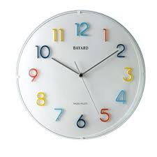 pendules de cuisine horloge de cuisine moderne cheap cuisine moderne dcoratif mur