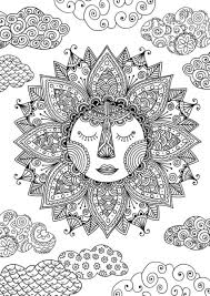 sun coloring page by felicity french coloring pages