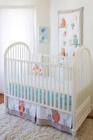 Owl Nursery Bedding Sets by Baby Owls Crib Bedding Set