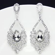 rhinestone chandelier earrings online get cheap rhinestone chandelier earrings aliexpress for