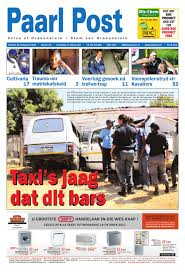 paarl post 13 october 2011 by paarl post newspaper issuu