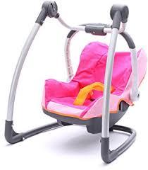 siege auto pour poupon smoby 550691 accessoire pour poupée cosi chaise haute bébé