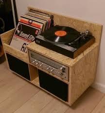 Lp Record Cabinet Furniture 105 Best Furniture Record Storage Images On Pinterest Vinyl